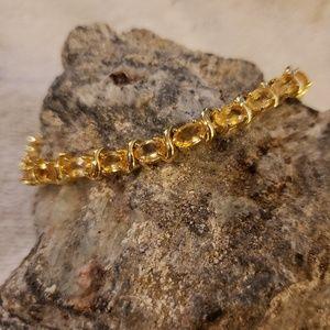 Jewelry - Lemon quartz bracelet